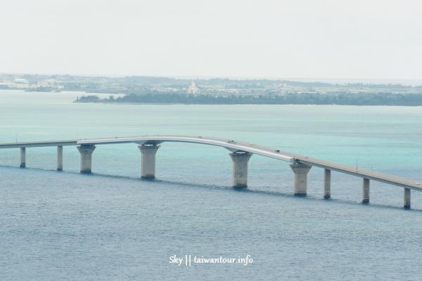 沖繩景點推薦-宮古島最長大橋【伊良部大橋】