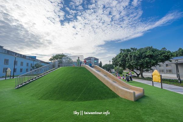 新北市親子景點【永昌兒童公園】鶯歌火山共融式樂園