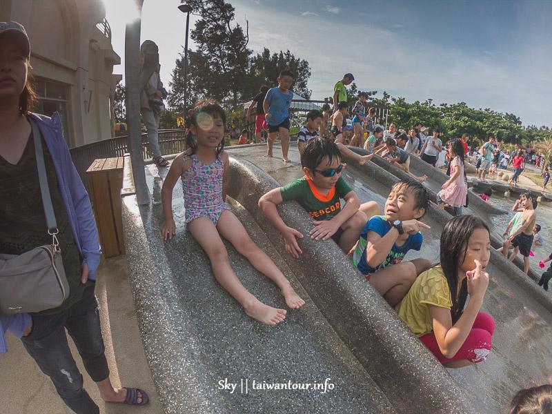 【南寮漁港旅遊服務中心】2020新竹親子景點溜滑梯.免費玩水.親子沙灘.開放時間