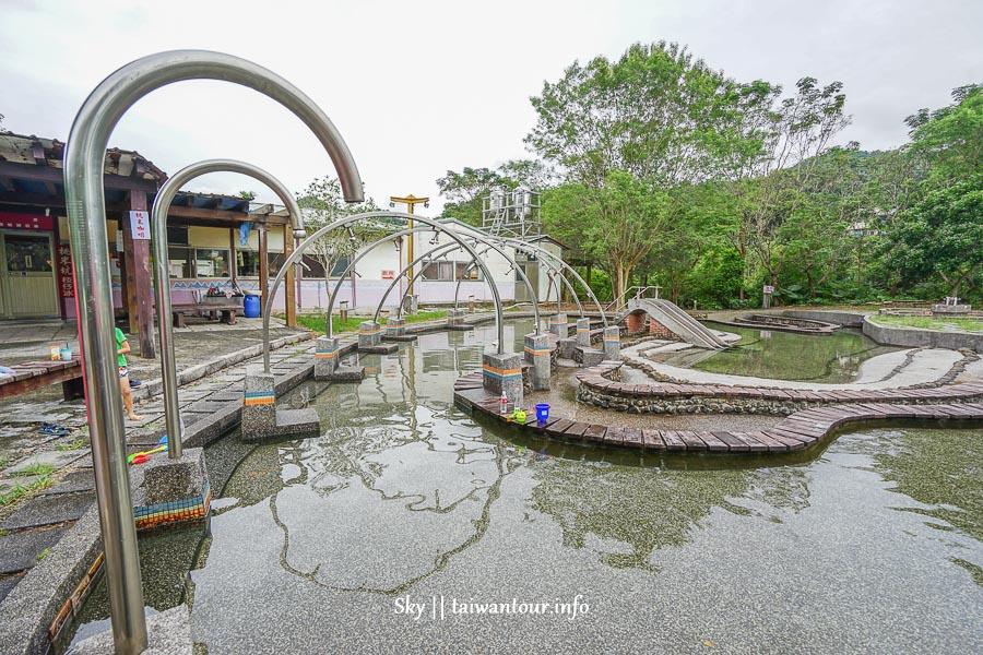 南投親子景點-免費玩水【桃米坑生態區戲水池】