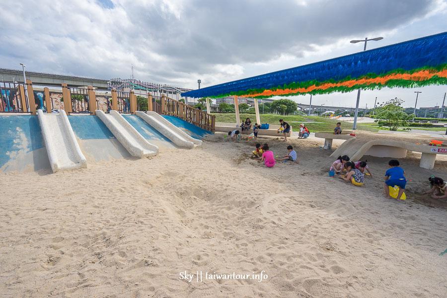 【台北.基隆玩水推薦】三大免費戲水區噴水池、溜滑梯任你玩