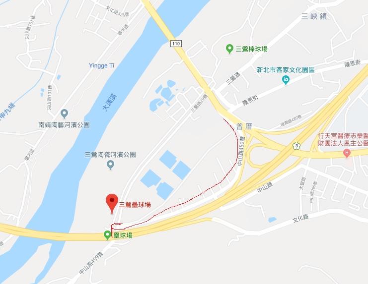 新北親子景點-三峽雙滑軌遊具【三鶯壘球場】