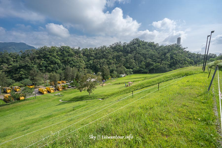 台北親子景點【福德坑環保復育公園】木柵免費滑草場