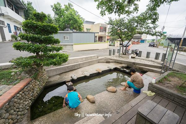 桃園親子景點【大伙(火)房浣衣池】戲水池兼洗衣池