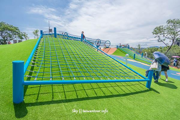 新北市親子景點【員山公園】中和滑軌.超長溜滑梯