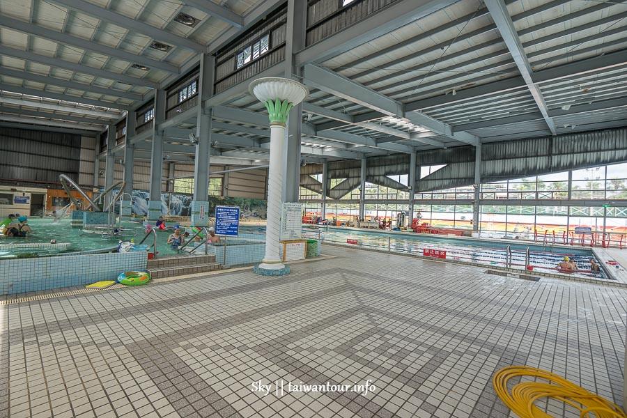 2020台北親子景點滑水道【玉成公園游泳池】南港滑軌.玩水開放