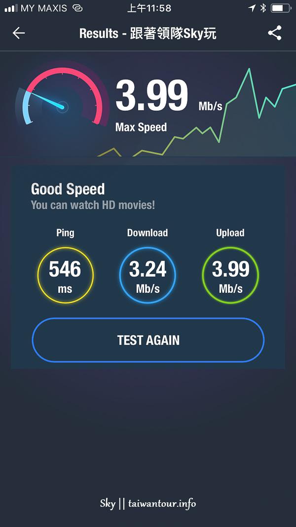 在台灣就搞定【馬來西亞AIS 4G上網SIM卡】8天4GB流量