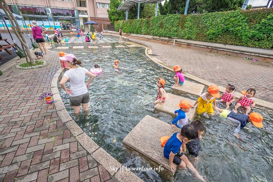 2020台北親子景點【自來水博物館】水鄉庭園.玩水戲水區