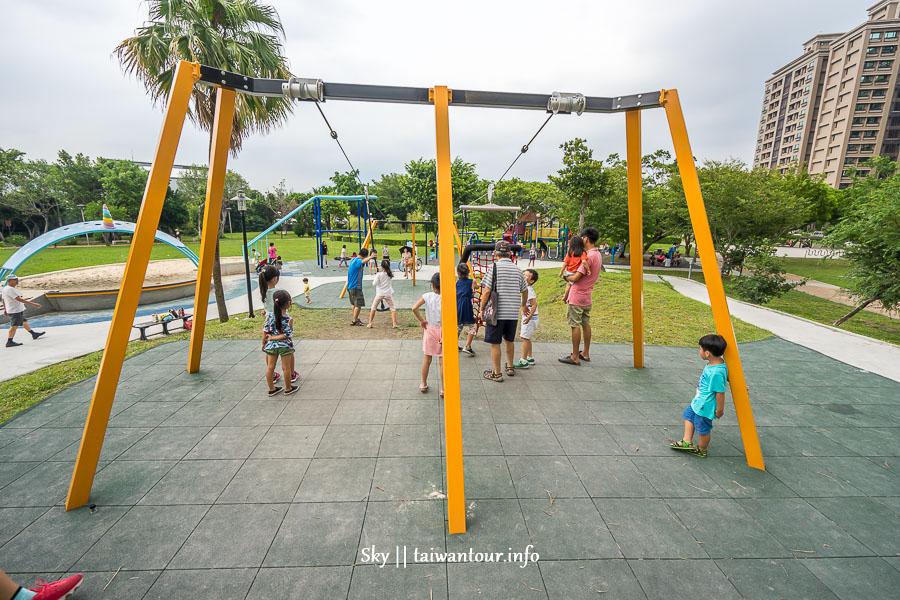 新北親子景點-三重唯一雙滑軌【集賢公園】