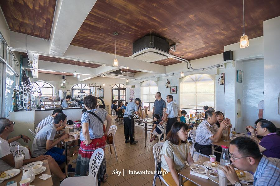 新北私房景點推薦【洋荳子咖啡館】金山浪漫地中海