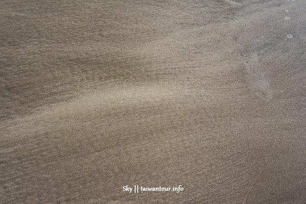 新北玩水景點【洲子灣沙灘】北海岸沙灘秘境.天空之鏡.交通
