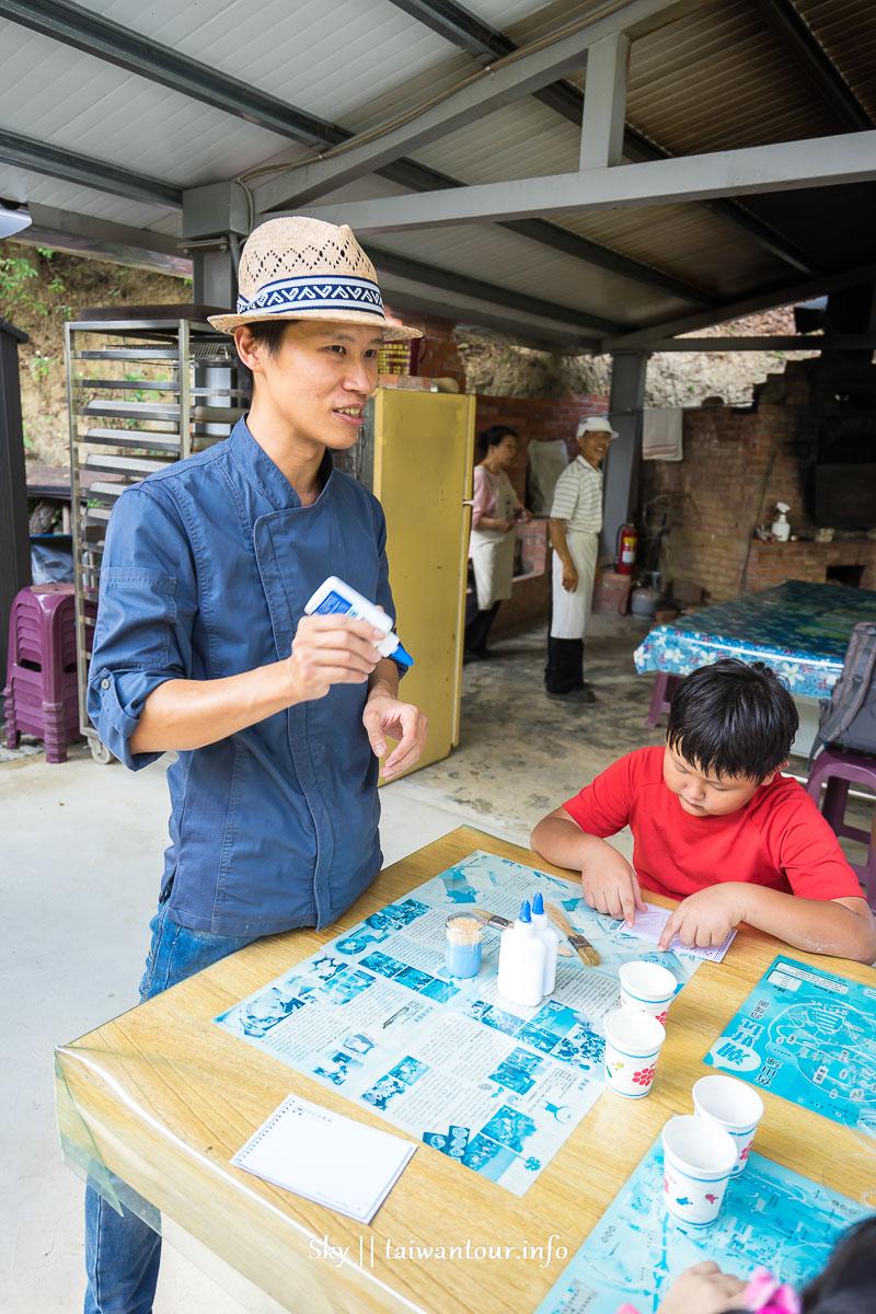 2019苗栗三義【貝岩居農場露營區】窯烤麵包親子景點推薦