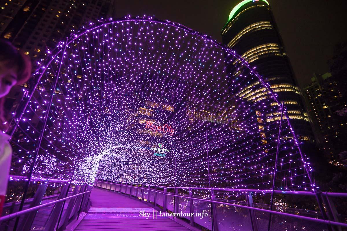2018板橋【新北歡樂耶誕城】首播.必拍景點一日遊捷運.美食地址