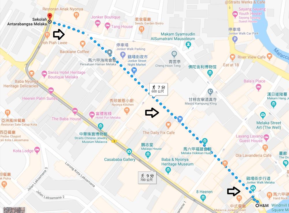 2019馬來西亞【麻六甲雞場街】一日遊.必買.夜市時間.交通.有故事咖啡館