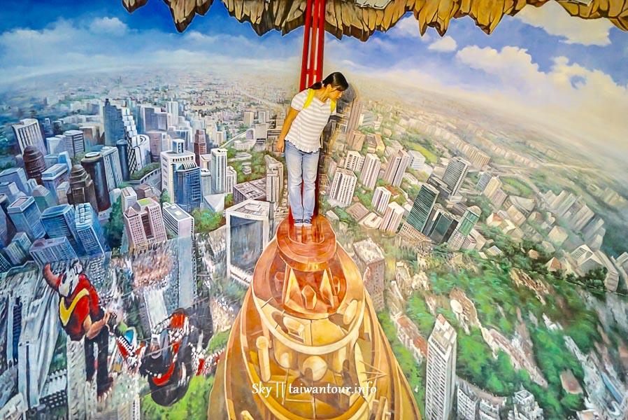 2019馬來西亞波德申【3D ALIVE立體視覺藝術館】景點.門票