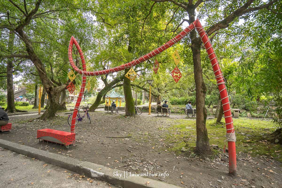 宜蘭【羅東中山公園】青鑼創意基地.IG網紅打卡景點.交通