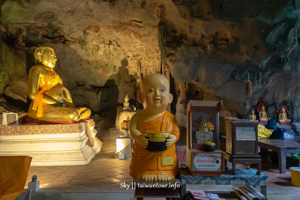 泰國華欣景點2019【拷龍穴 Tham Khao Luang】自由行必去交通地圖.親子包車一日遊