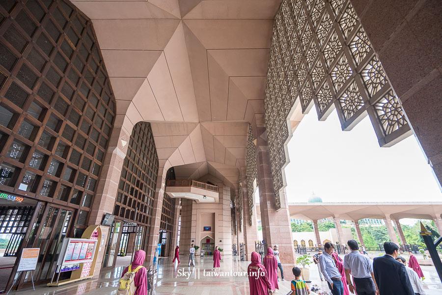 2019馬來西亞布城【粉紅清真寺(布特拉清真寺 )】服裝.開放時間.拍照景點