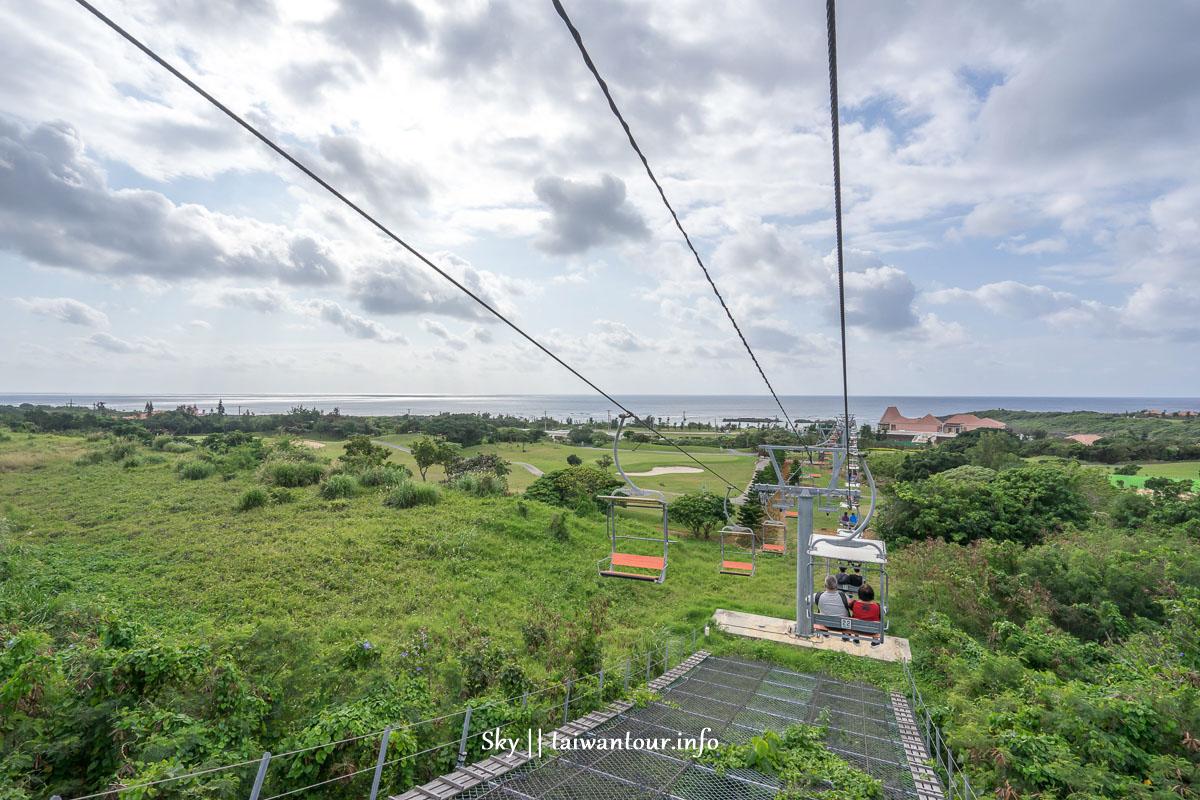 日本沖繩宮古島【The Shigiralift・Oceansky】360度登山纜車美景
