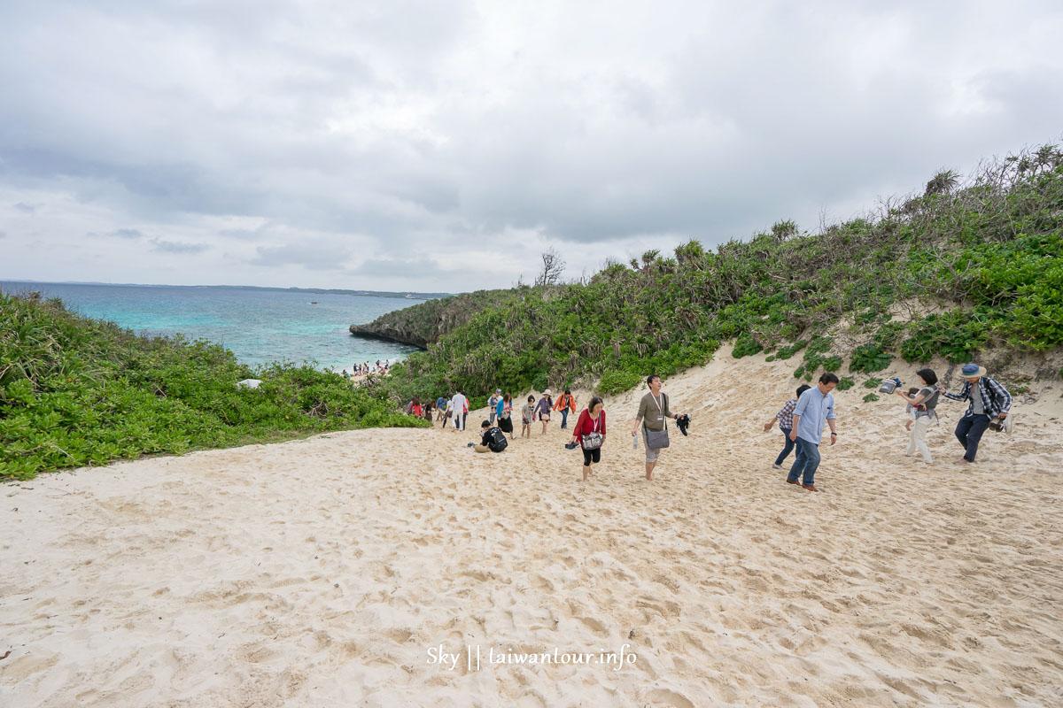 沖繩景點推薦-宮古島必訪【砂山海灘sunayama beach】