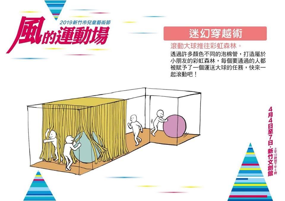 2019新竹兒童藝術節攻略【風的運動場】一.二日遊攻略和交通接駁