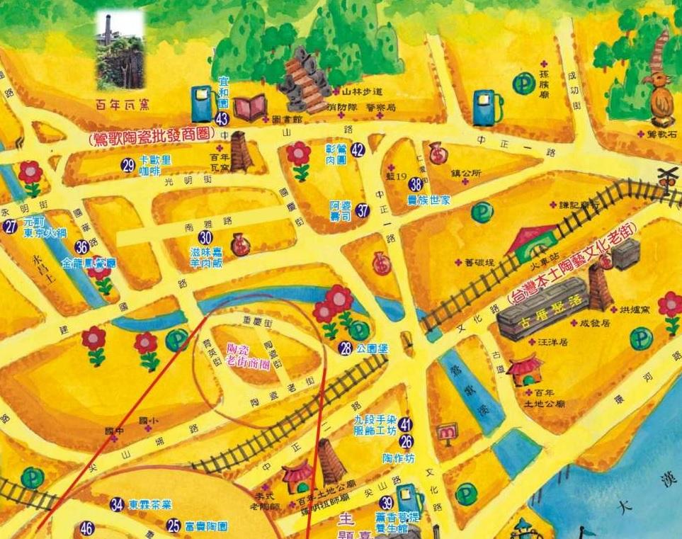 2020新北市【鶯歌美食.私房景點親子一日遊】交通開車.公車.火車.美食地圖.食尚玩家推薦