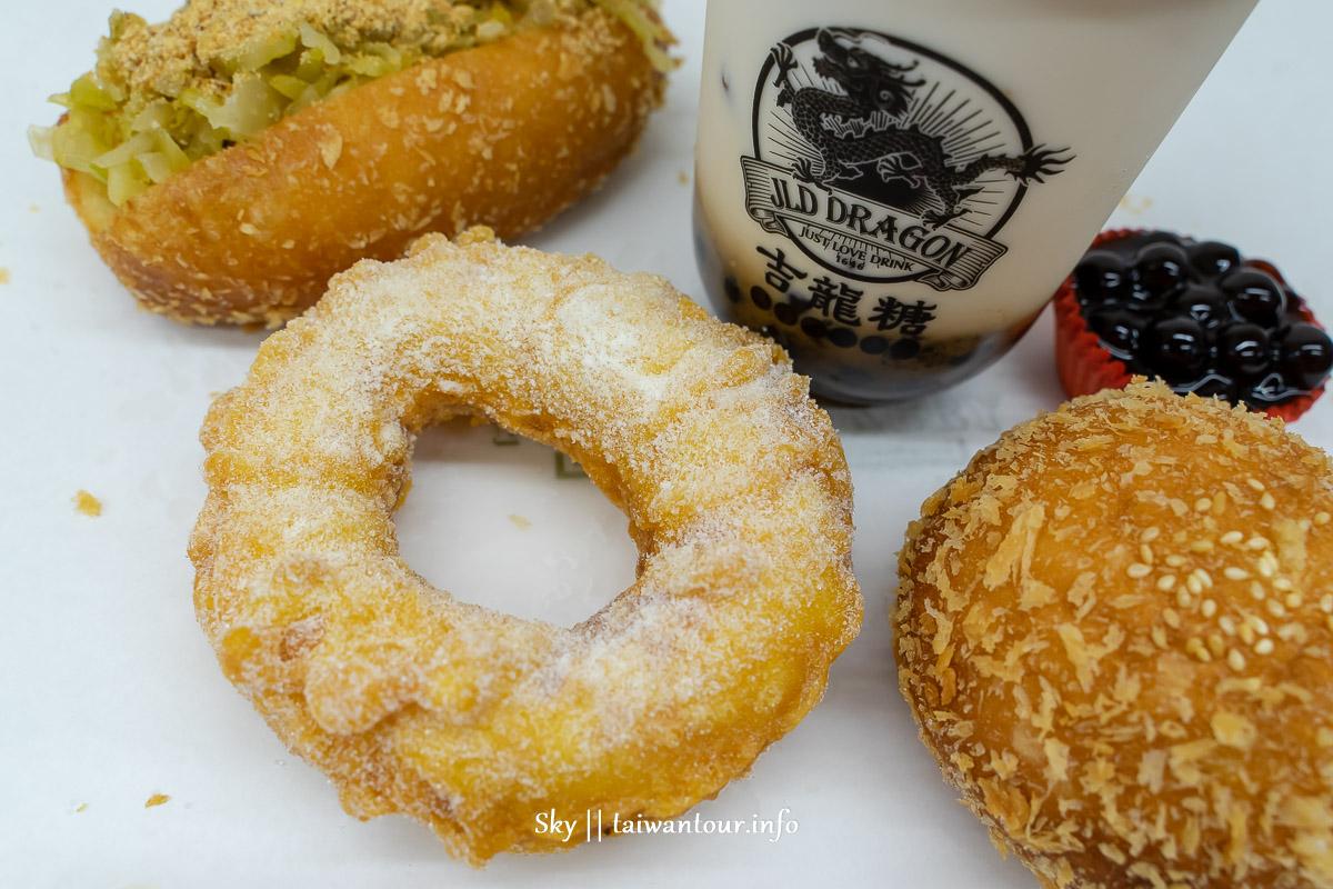 北投排隊名店【北海道脆皮甜甜圈】吉龍糖石牌.黑糖珍珠厚奶