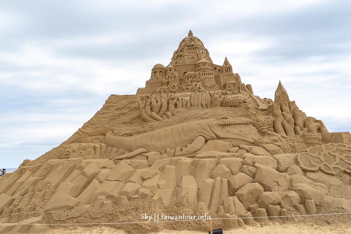 2019福隆國際沙雕藝術季亞特蘭提斯沙雕城堡