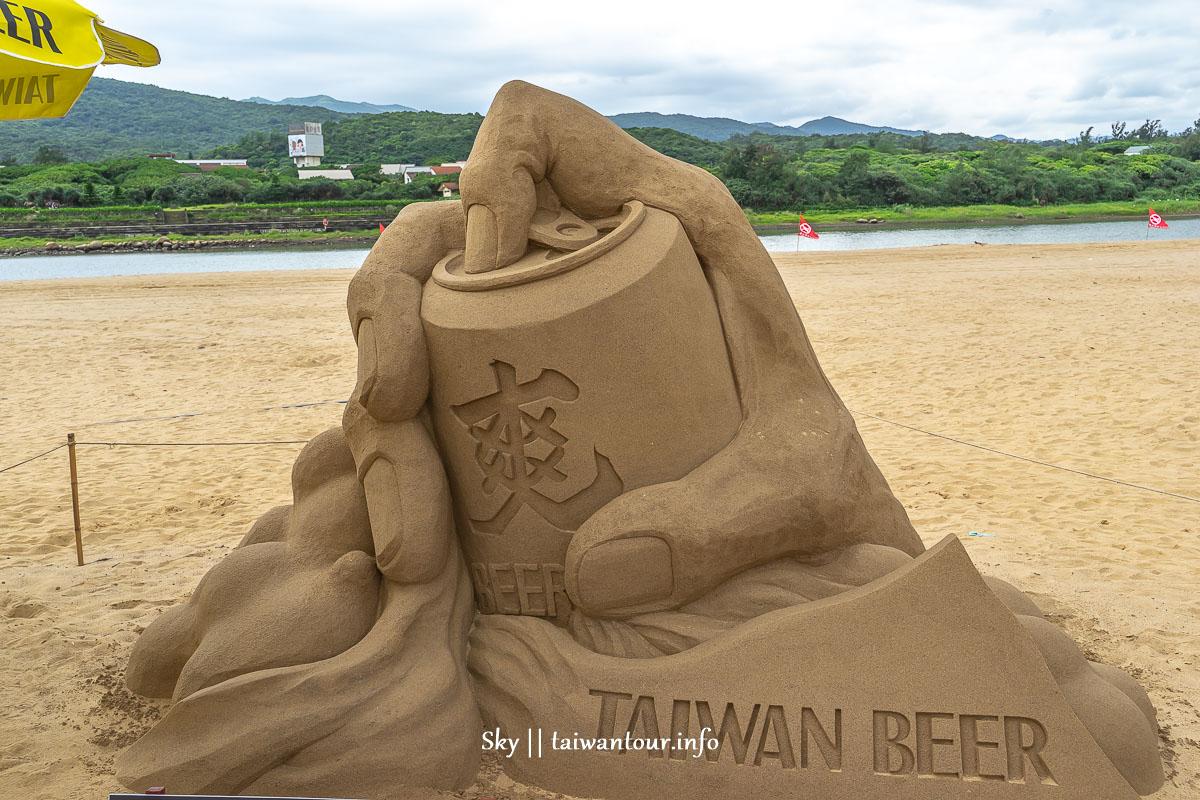 2019福隆國際沙雕藝術季啤酒沙雕