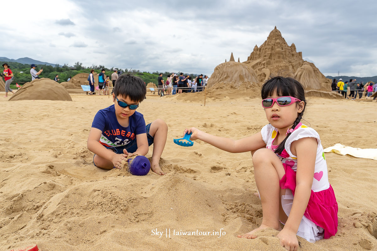 2019福隆國際沙雕藝術季玩沙