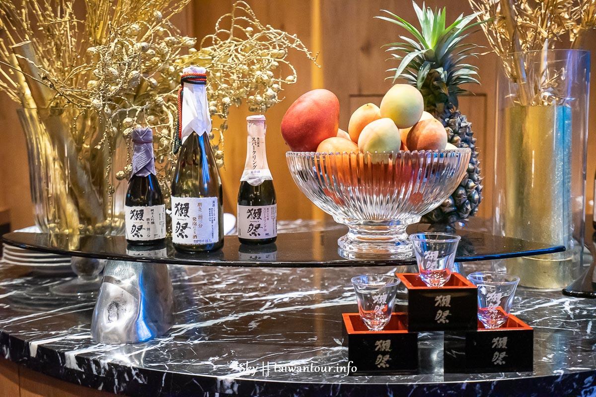【晶英國際行館Silks Club】高雄住宿.ukai-tei餐廳.獺祭酒吧.早餐