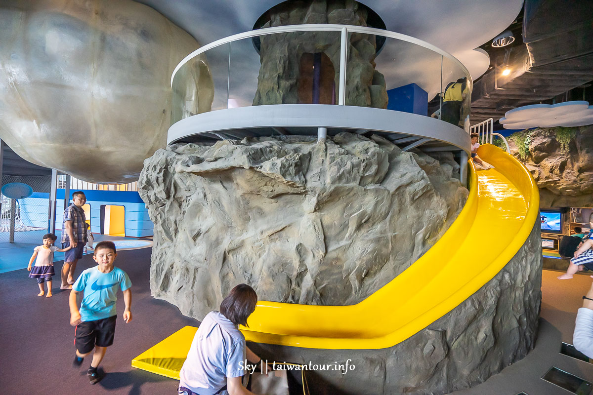 基隆親子景點【國立海洋科技博物館.兒童廳】室內互動海洋體驗