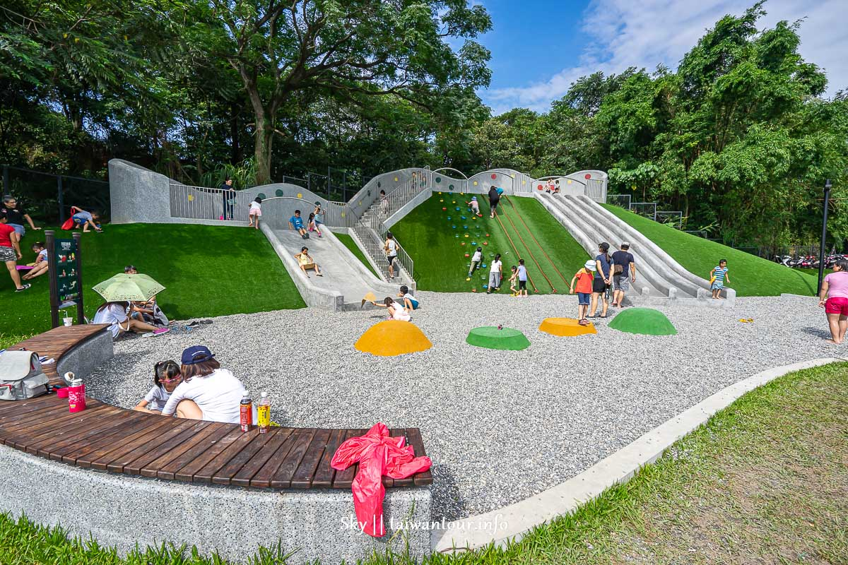 2020新北市免費玩水【斬龍山遺址文化公園】土城共融式特色公園