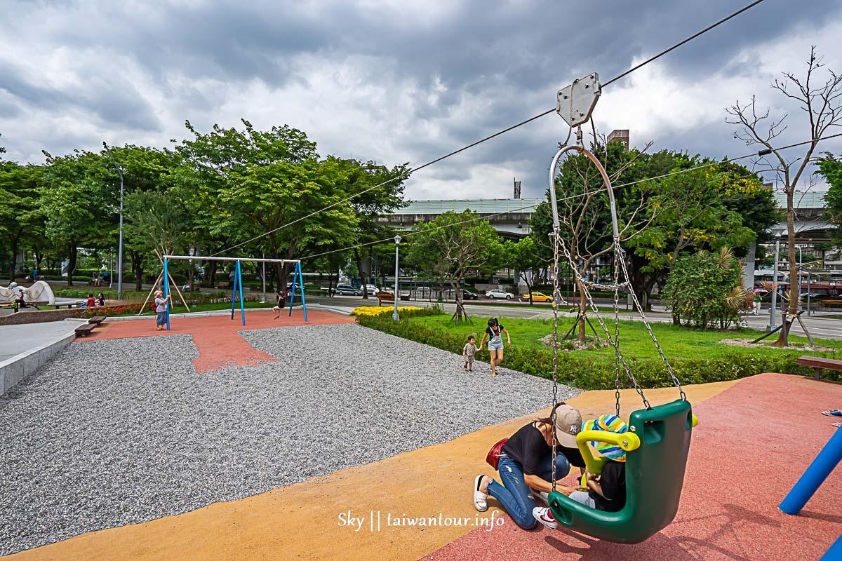 2019台北兒童【華山大草原遊戲場】共融遊具親子景點