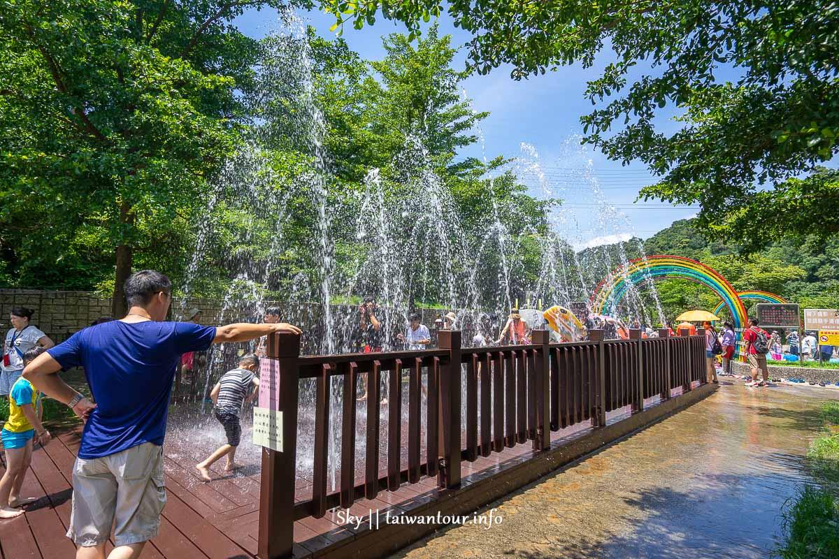 2020基隆免費玩水【暖暖親水公園】溜滑梯.親水季.開放時間