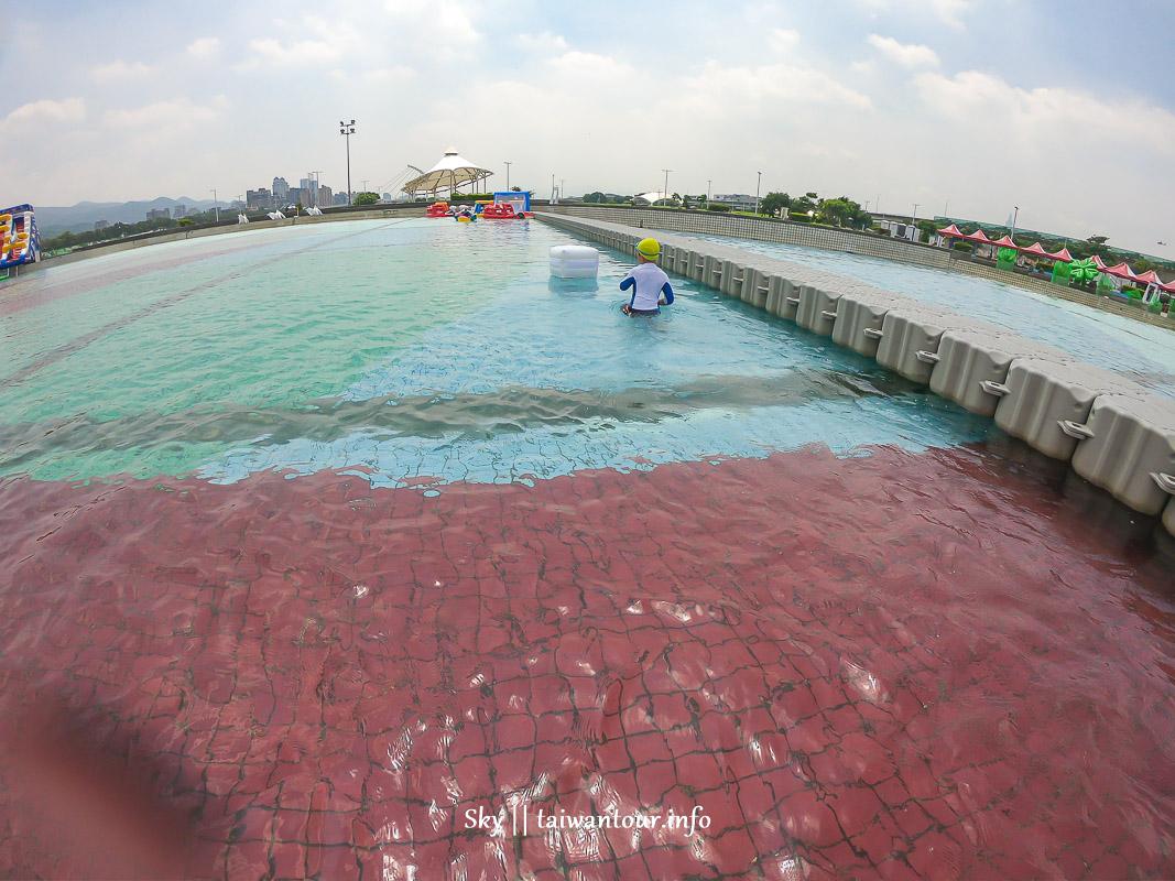 2019免費玩水【臺北河岸童樂會-熊讚水樂園】親水體驗活動報名