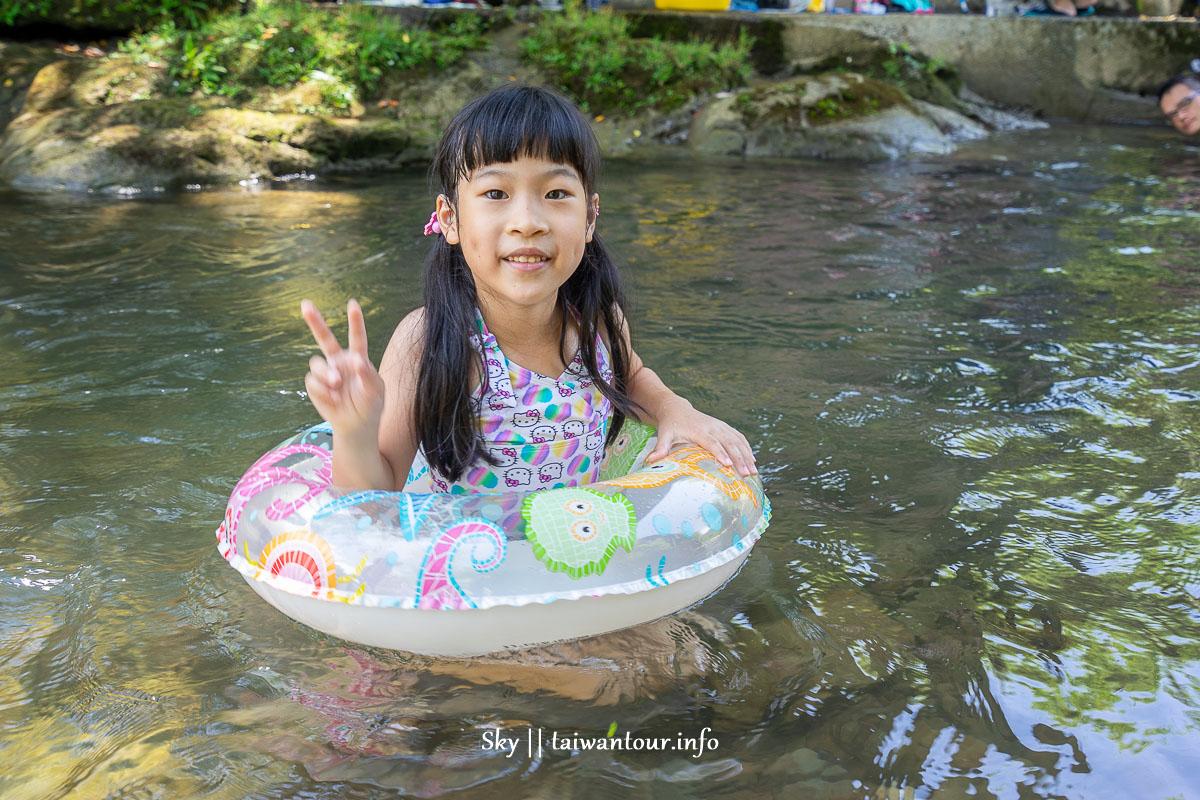 新北市玩水秘境【清水坑】雙溪區溪邊烤肉戲水池