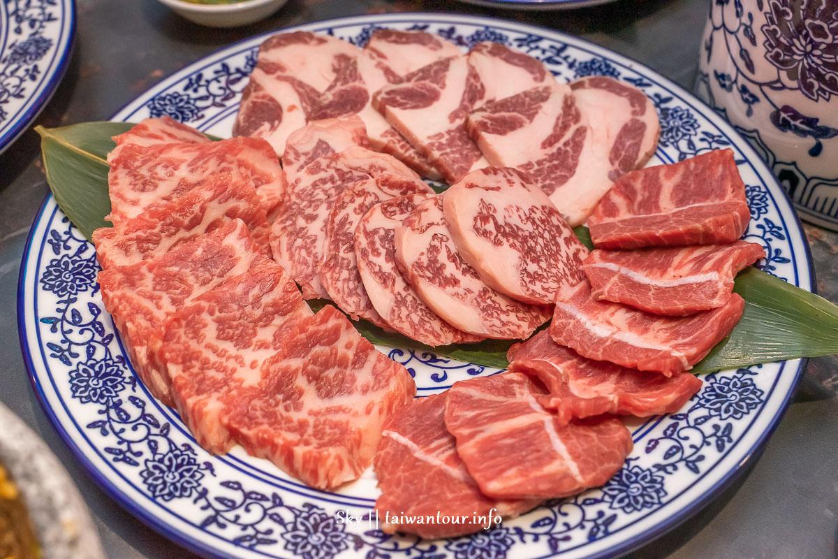 台中南屯【墨妃家燒肉】中式燒肉.澳洲9+和牛.乾式熟成牛.菜單