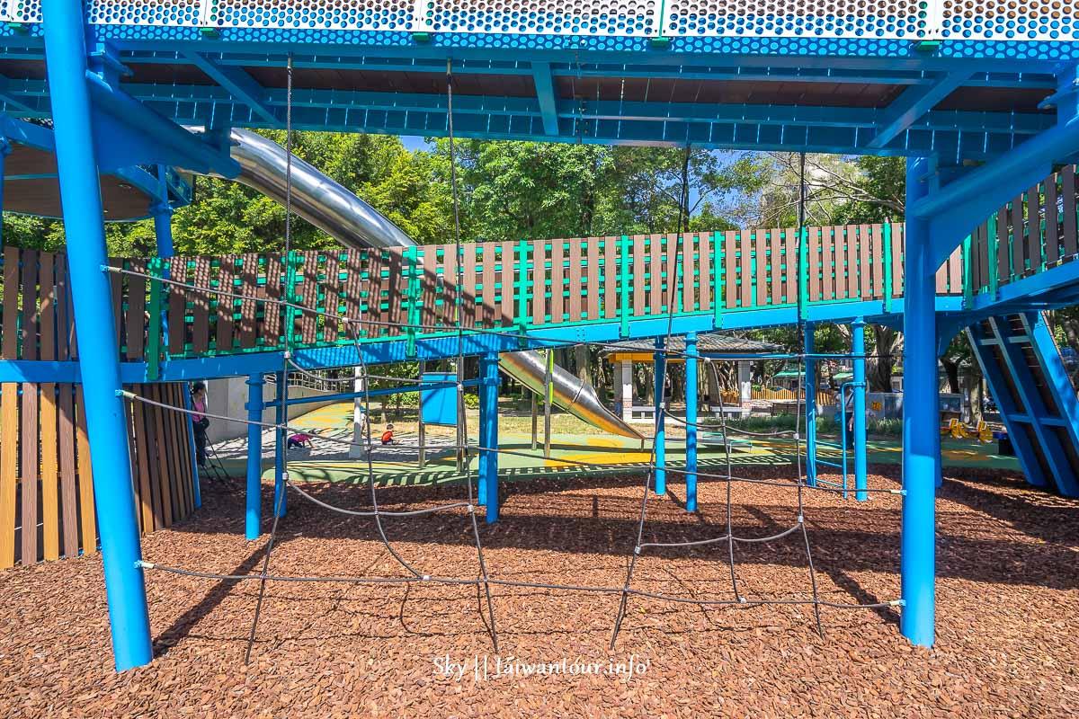 前港公園共融兒童遊戲場爬網