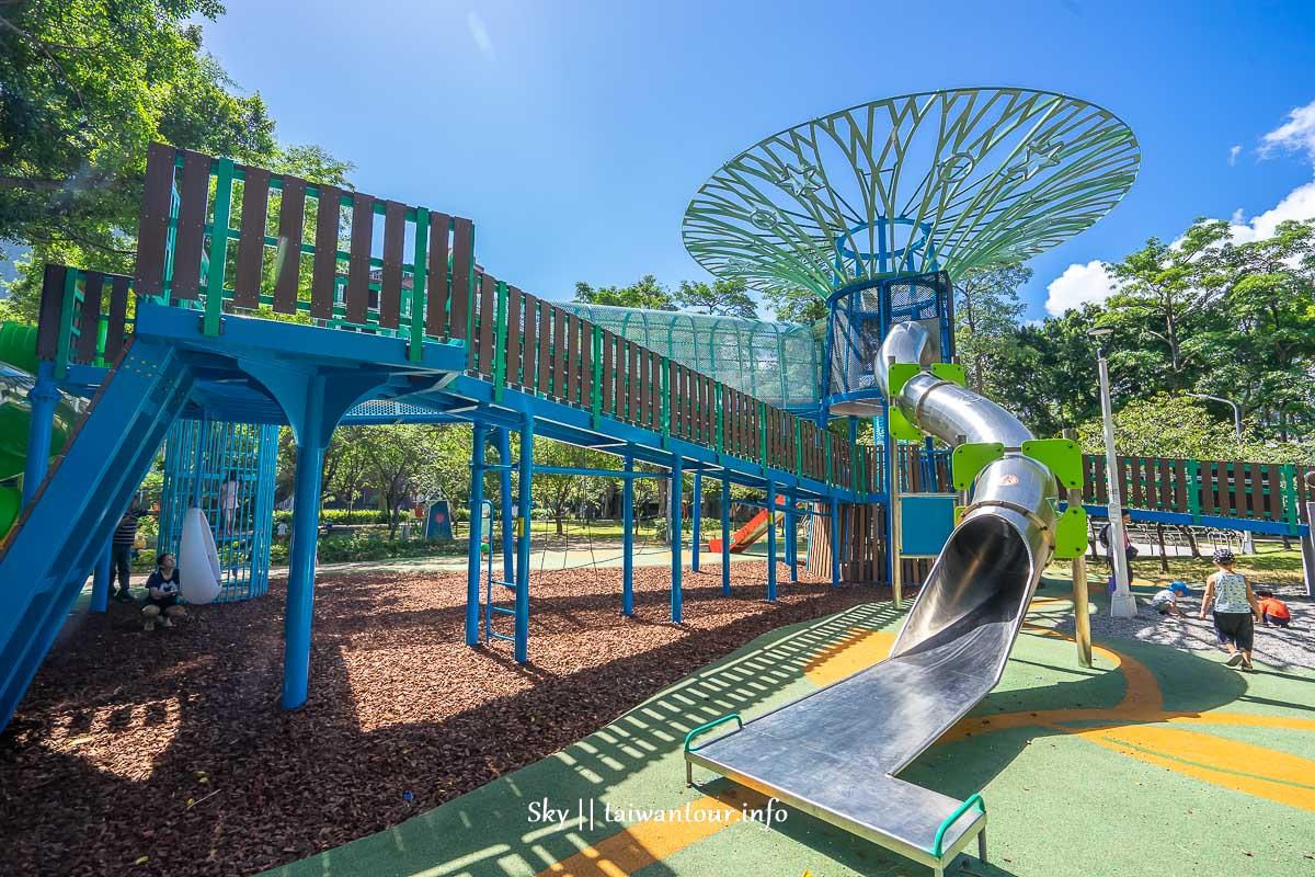 前港公園共融兒童遊戲場後面