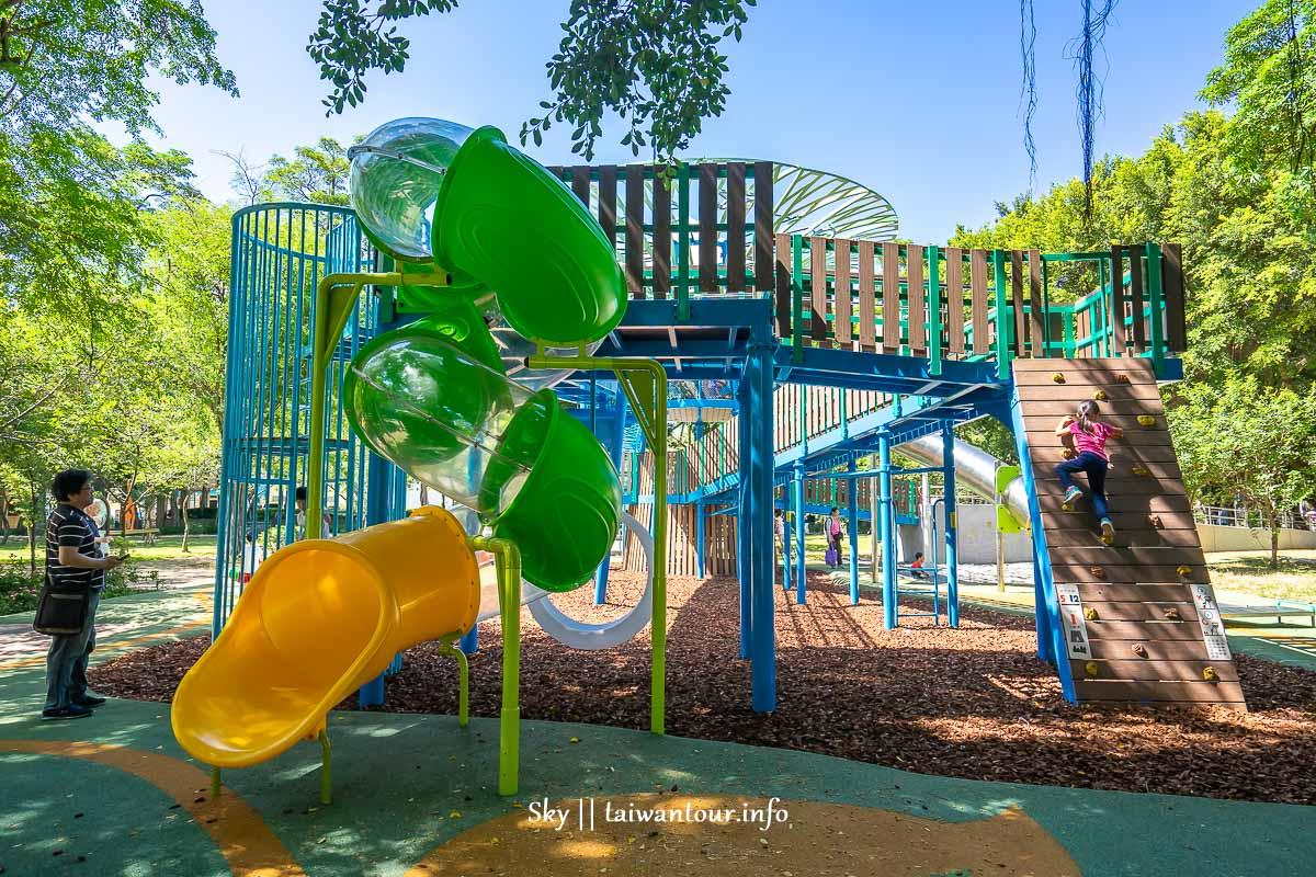 前港公園共融兒童遊戲場側面