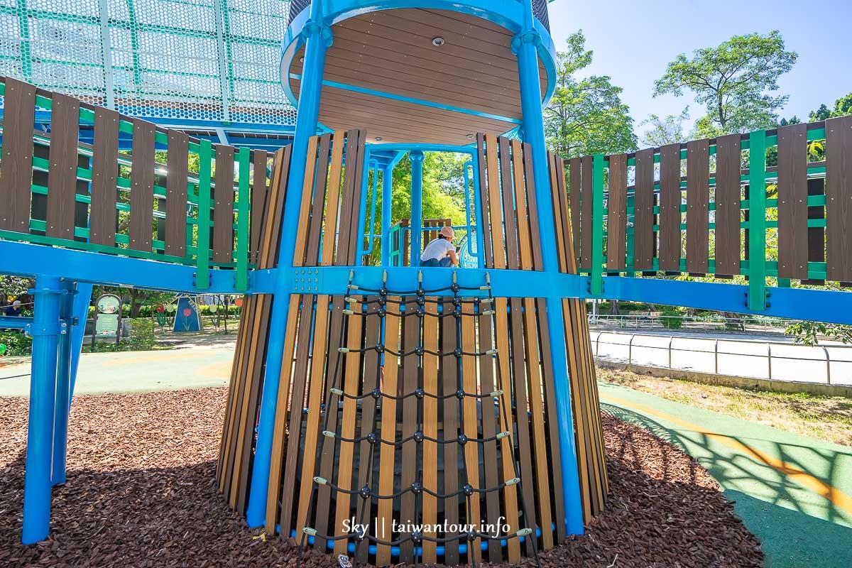 前港公園共融兒童遊戲場小爬網