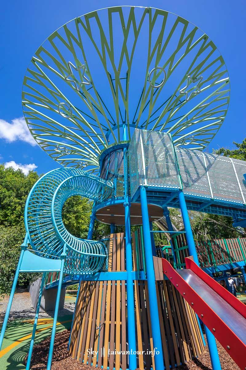 前港公園共融兒童遊戲場側面外觀