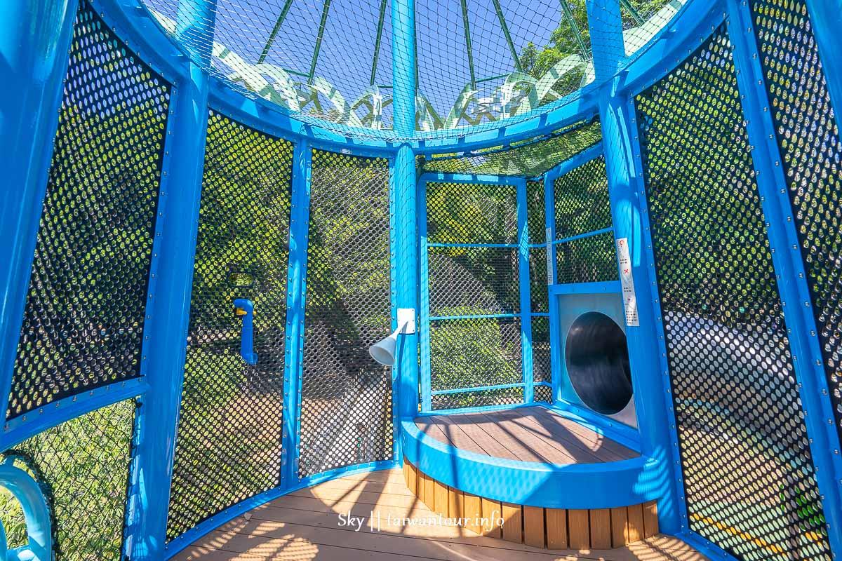前港公園共融兒童遊戲場三樓平台