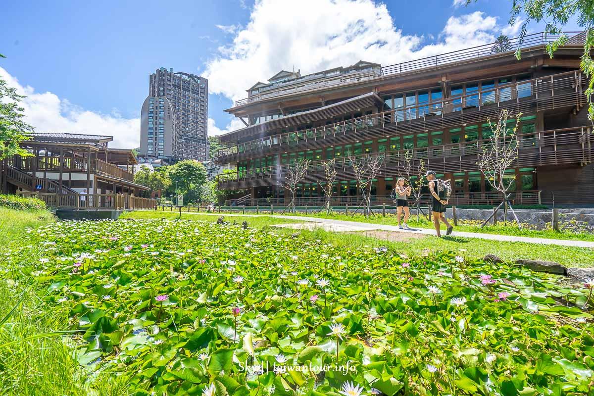 北投景點推薦【臺北市立圖書館北投分館】全台最美的綠建築