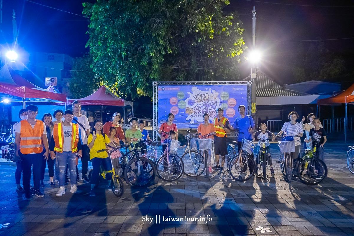 南投夜生活【集集仲夏樂之夢】夜間生態導覽+腳踏車巡禮