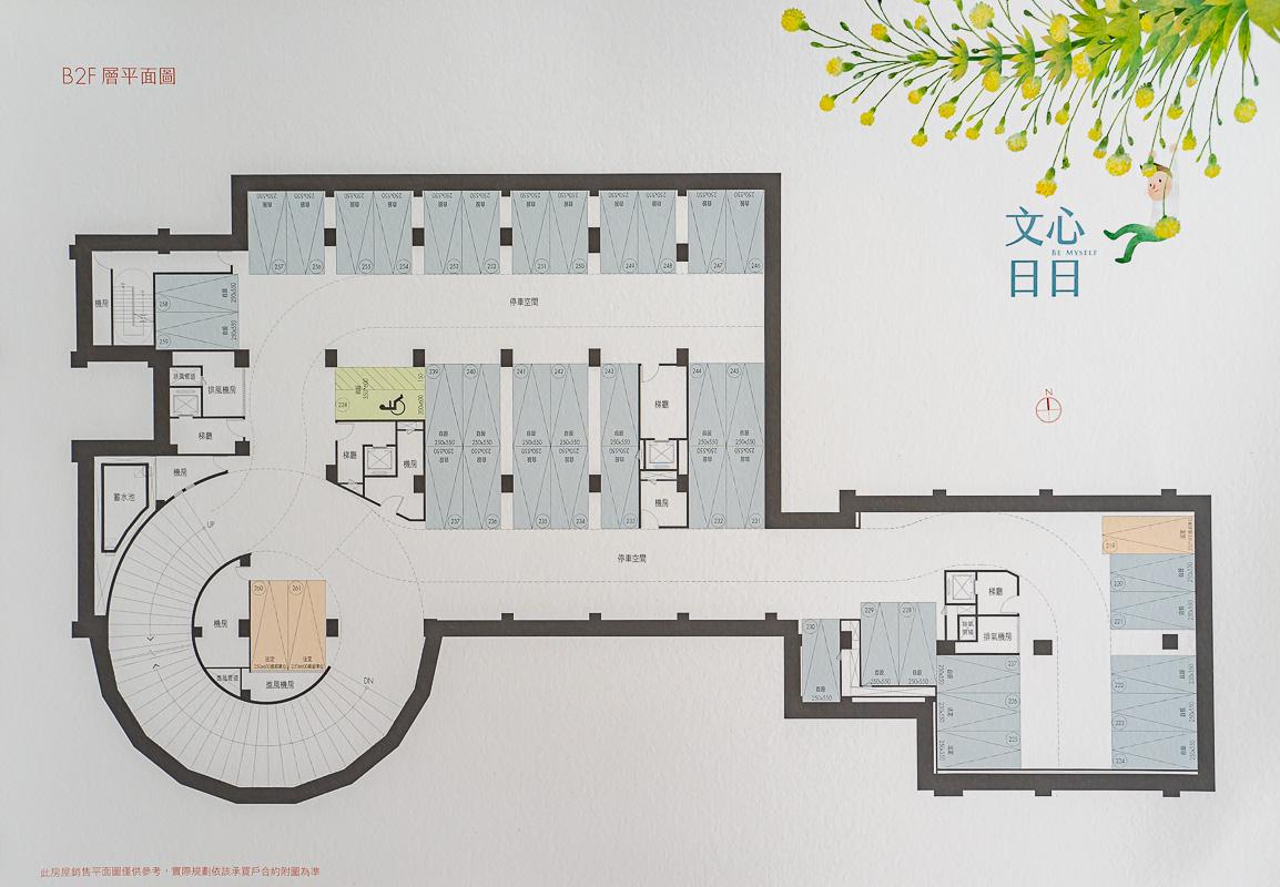 2019內湖藝術市集【綠美丘II x 文心日日】新成屋建案格局