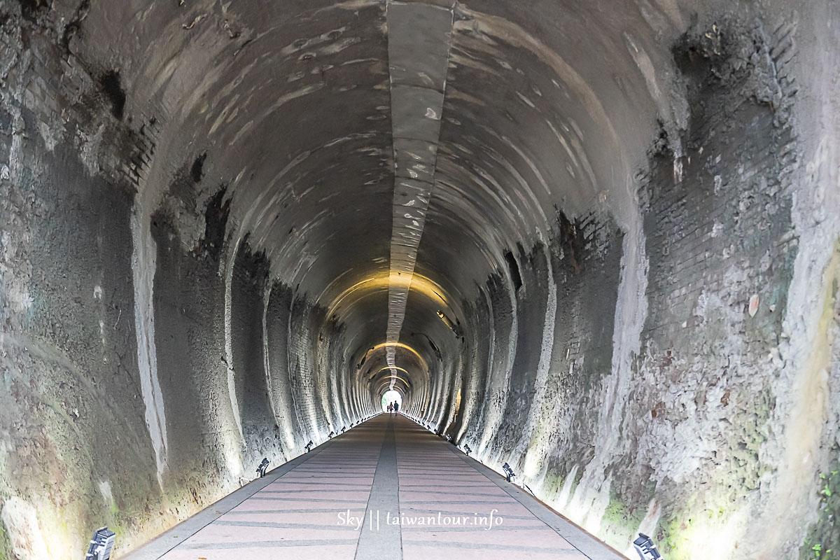 2020新北市景點【五堵台鐵舊隧道】親子自行車道