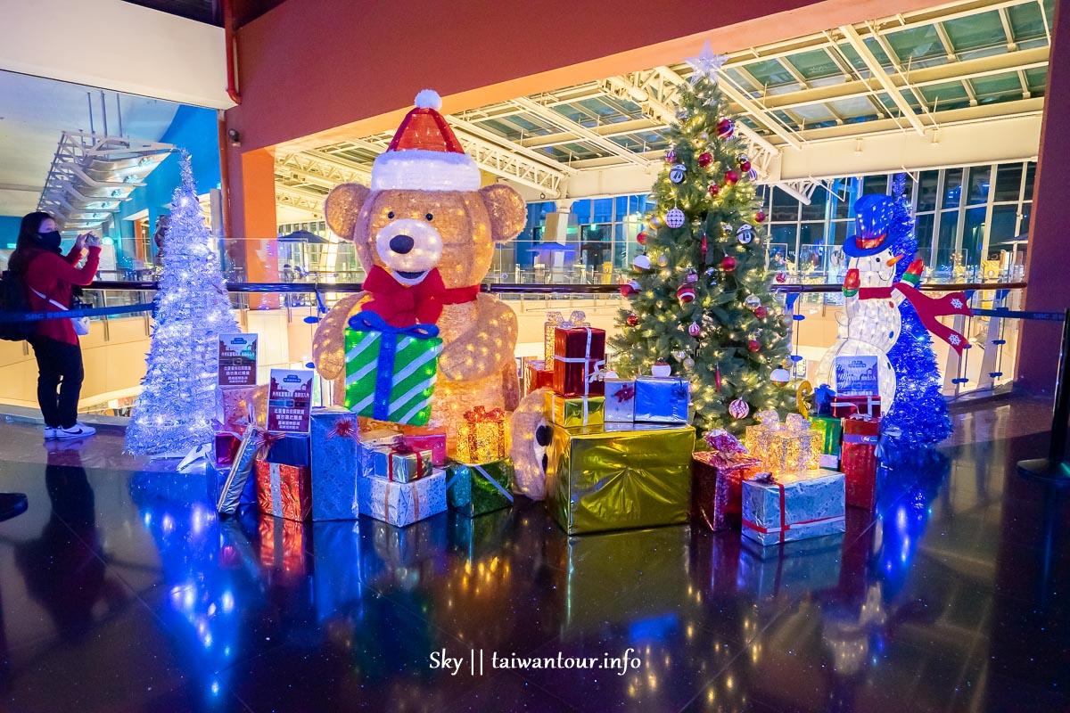 室內最大聖誕城!桃園美食都在【中壢大江購物中心】全年免費停車