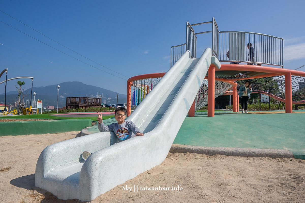 彈塗魚八里渡船頭公園】最新親子特色共融景點2